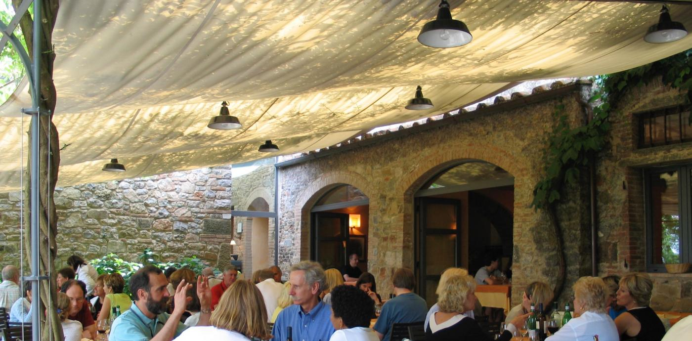 Badia a Coltibuono restaurant