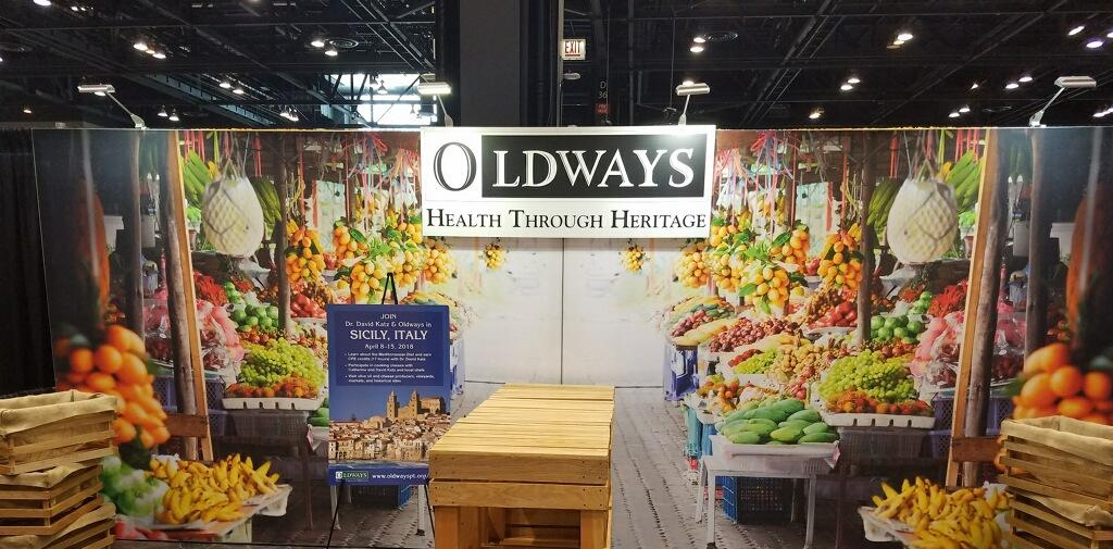 FNCE 2017 Oldways booth