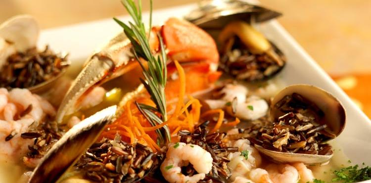 California Wild Rice Seafood Stew