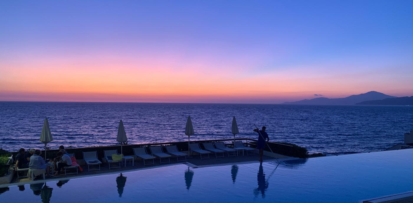 Campania sunset