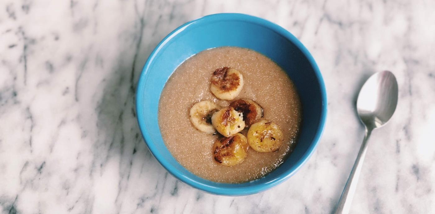 Chai Spiced Amaranth Porridge