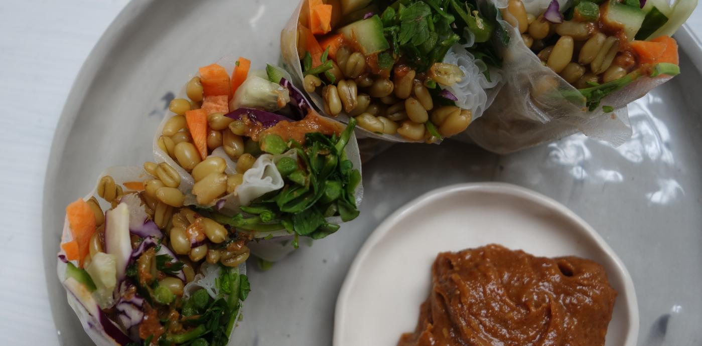 Freekeh Rice Wraps