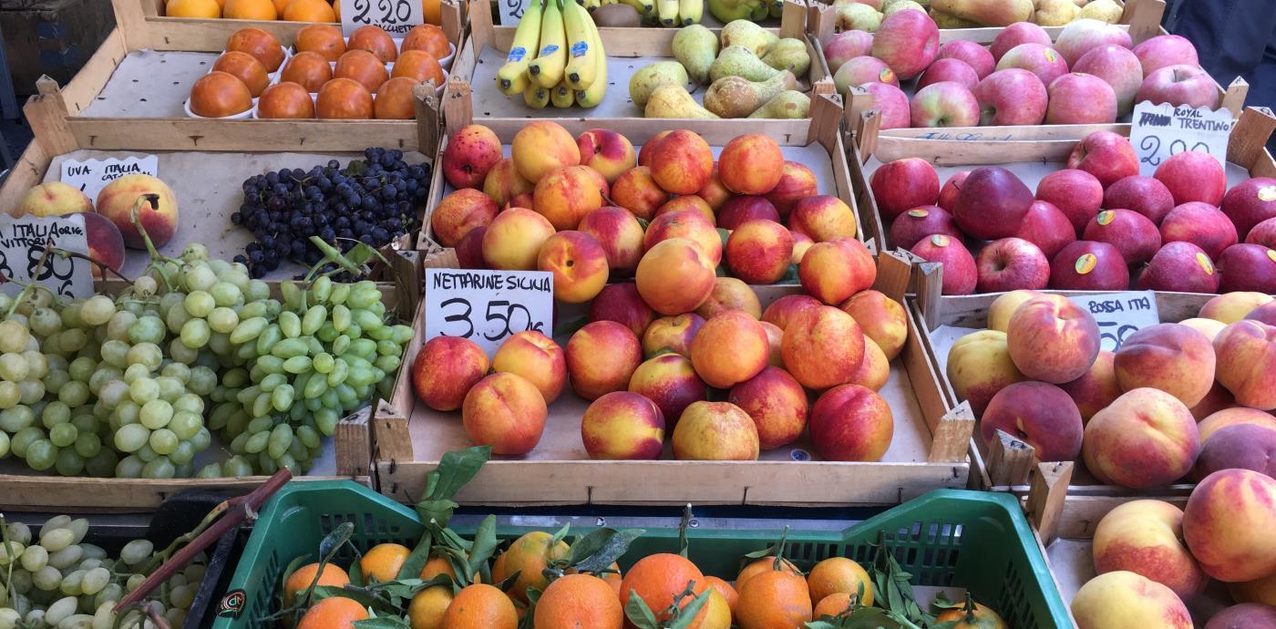 Fruit at Campo de' Fiori Market