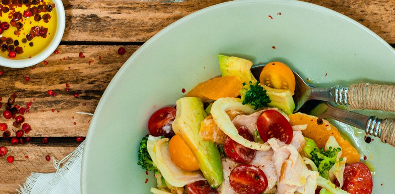 Chicken Salad with Fennel and Oranges