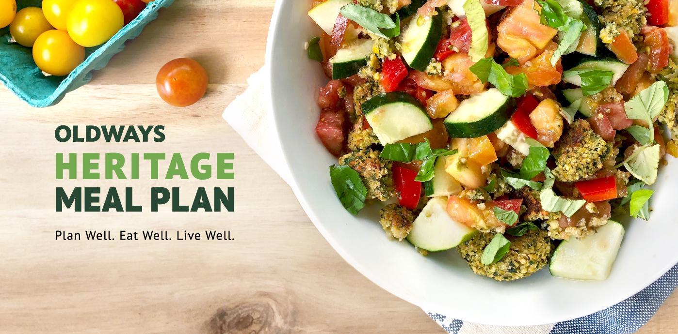Oldways Heritage Meal Plan