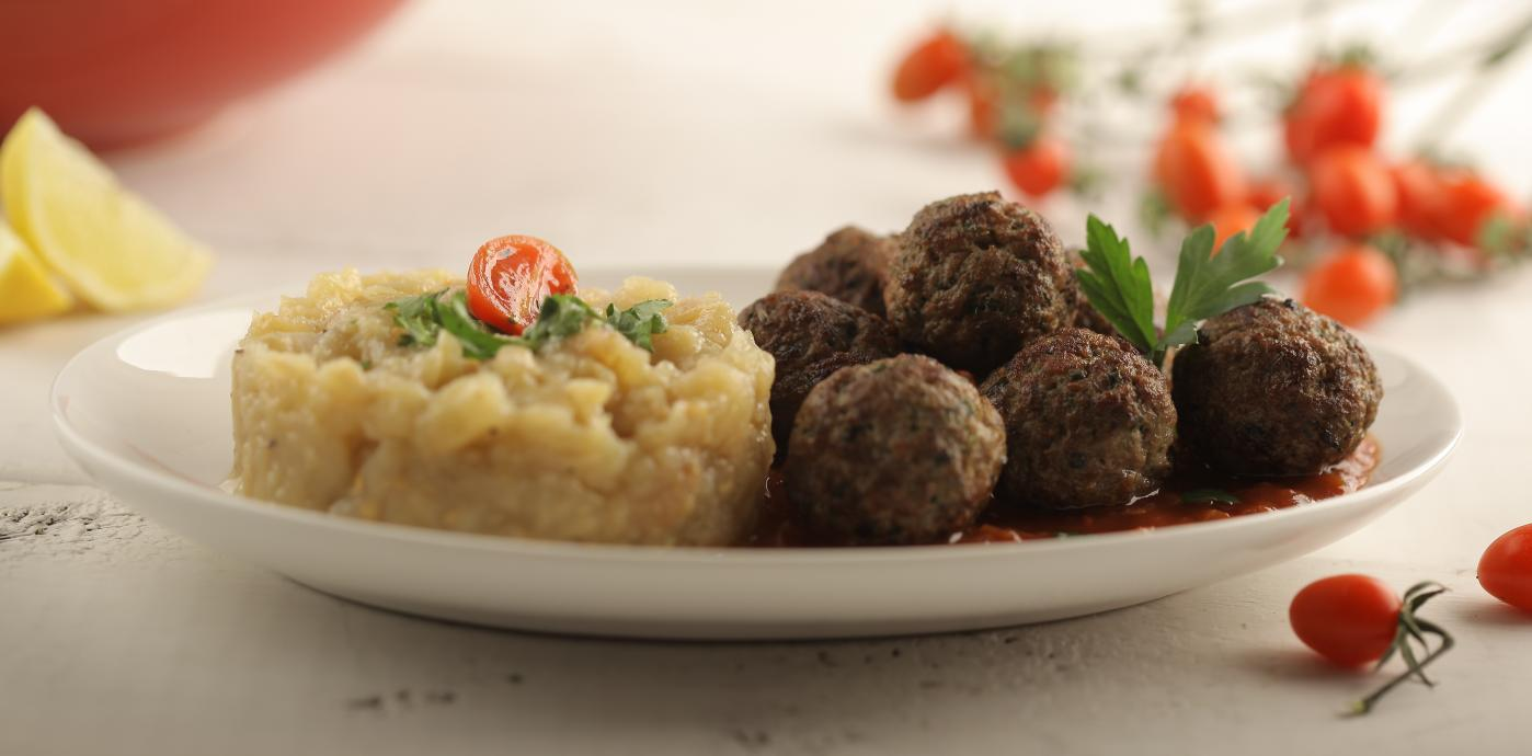 Meatballs with Smokey Eggplant Pulp.JPG