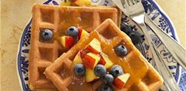 Multi Grain Corn Flour Waffles