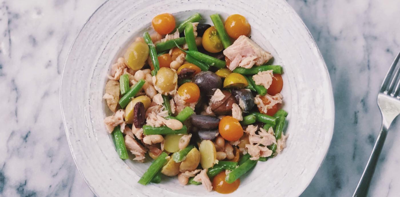 Nicoise Tuna Salad