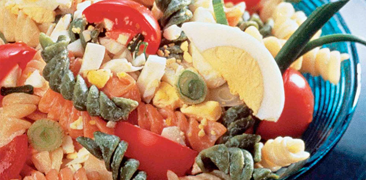 Pasta Egg Salad