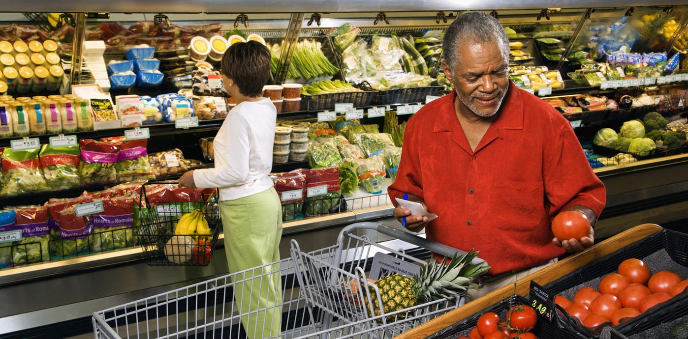 Shopping at a Supermarket