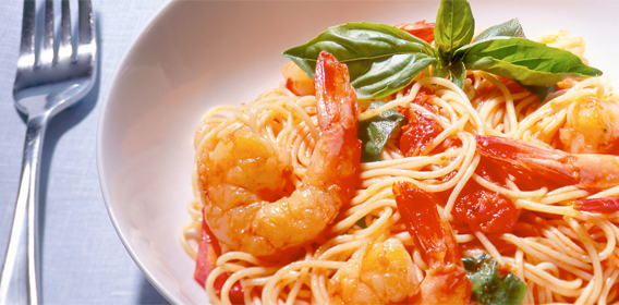 Pasta with Shrimp