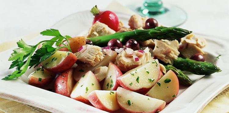 Spring Niçoise Potato Salad