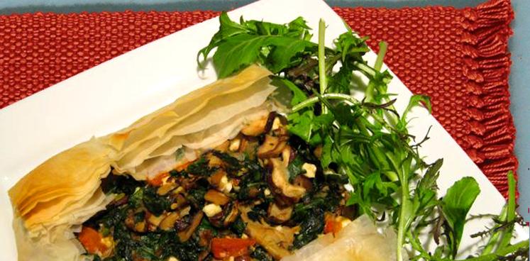 Tarragon Mushroom Tart