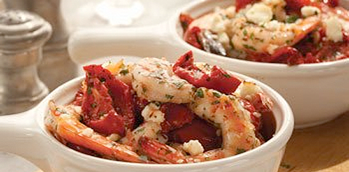 Tomato Shrimp Casserole