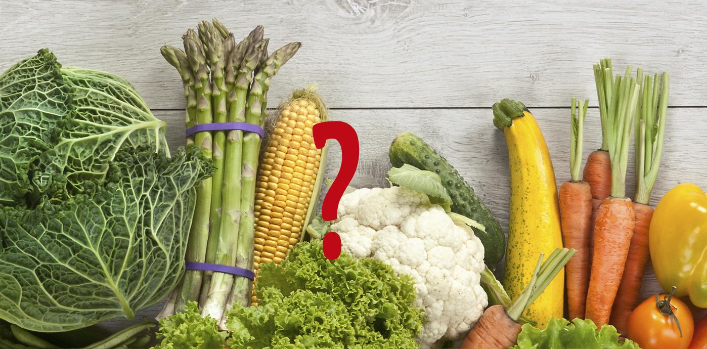 Vegetables FAQ