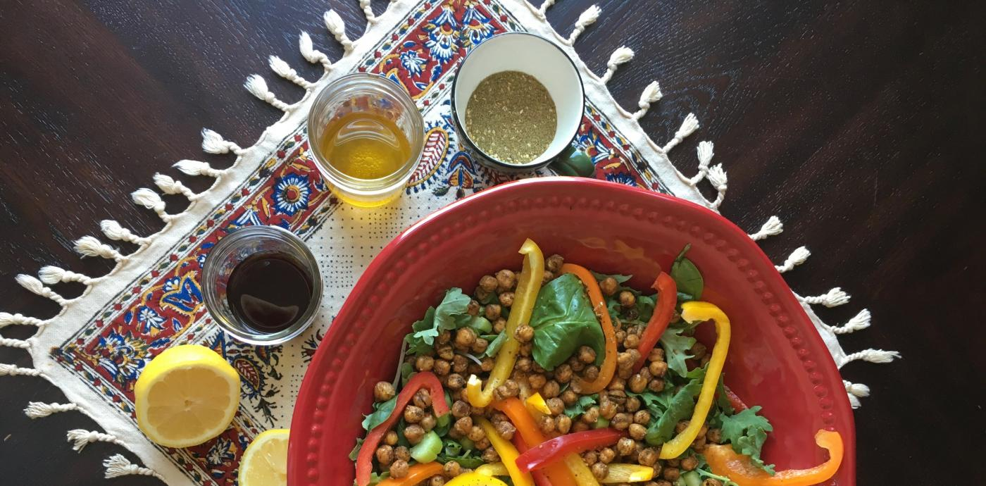 Vinaigrette with Salad