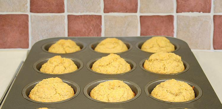 Whole Grain Corn Muffins