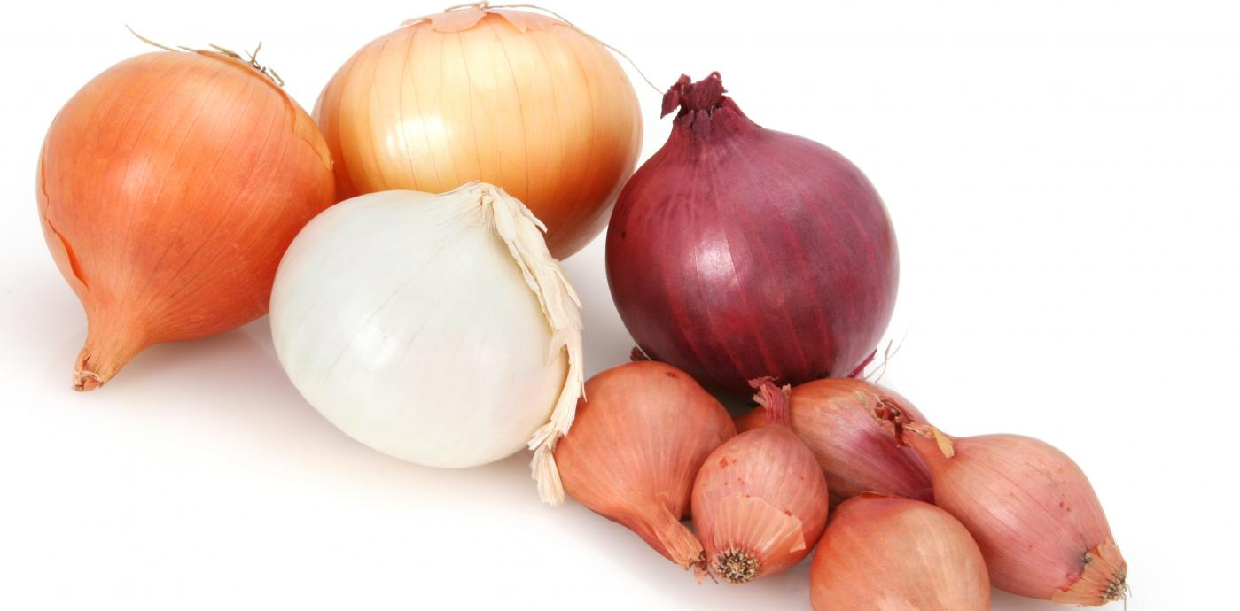 a pile of onions
