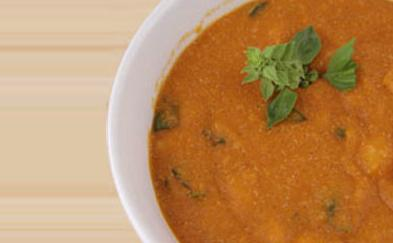 Amaranth Cannelini Soup