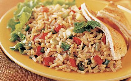 Brown Rice Tabbouleh