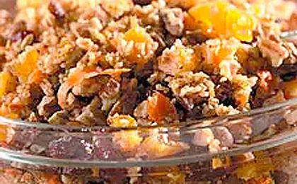 Citrus Scented Fruit and Wheat Salad