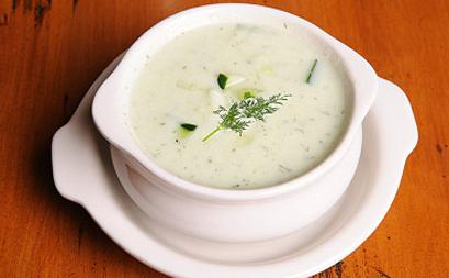 Cucumber Soup with Dill