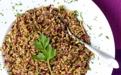 Farro Cabbage Salad