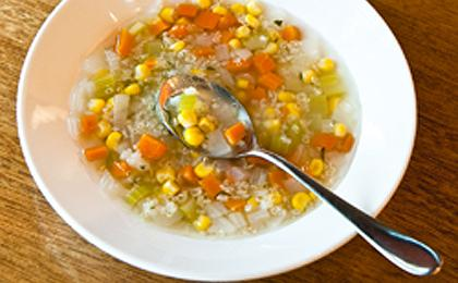 Quinoa Corn Soup