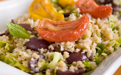 Roasted Tomato Bulgur Salad