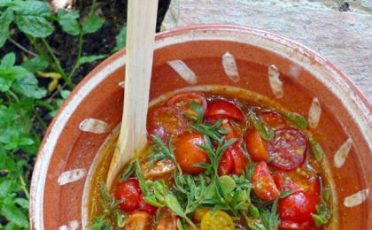 Tomato Purslane Relish