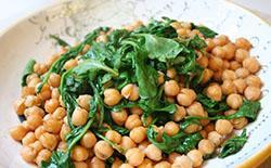 Chickpea Arugula Salad