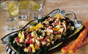 Barley Antipasto Salad