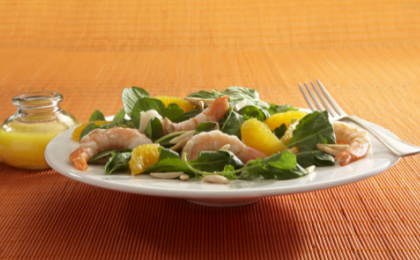 Shrimp Salad with Arugula