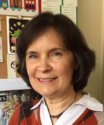 Joan Kelley, Graphics and Web Manager