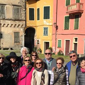 Liguria: Pigna - art tour group