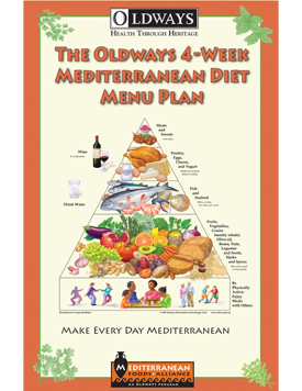 Oldways 4 Week Mediterranean Diet Menu Plan