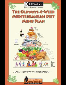Oldways 4-week Mediterranean Diet Menu Plan