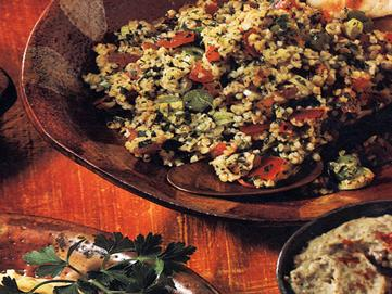 Whole grain Tabouli