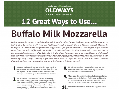 12 Great Ways to use Buffalo milk mozzarella.png