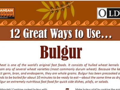 12 Great Ways to Use Bulgur