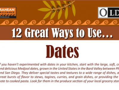 12 Great Ways to Use Dates
