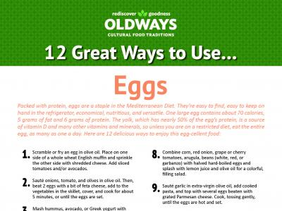 12 Great Ways to Use Eggs