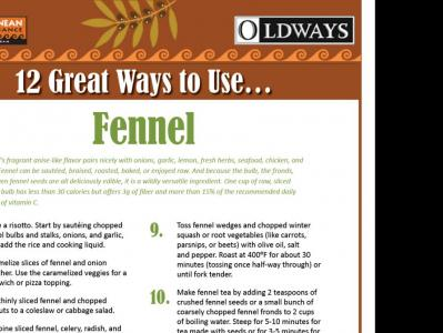 12 Great Ways to Use Fennel