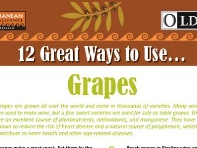 12 Great Ways to Use Grapes