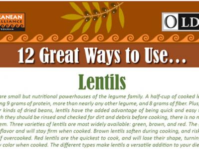 12 Great Ways to Use Lentils