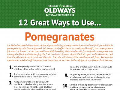 12 Great Ways to Use Pomegranates
