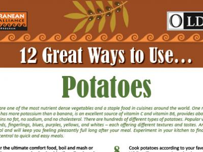 12 Great Ways to Use Potatoes