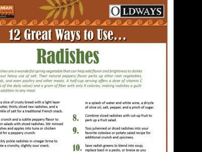 12 Great Ways to Use Radishes