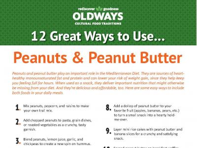 12 Great Ways to Use Peanuts and Peanutbutter