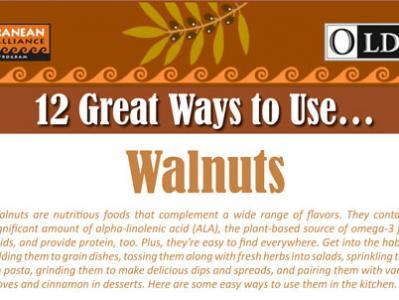12 Great Ways to Use Walnuts